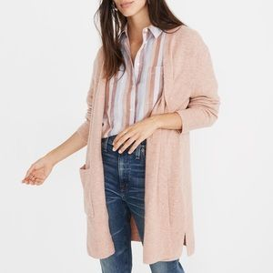Madewell Kent Open CardiganSweater Pink S